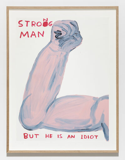 David Shrigley, 'Untitled (Strong Man)', 2019