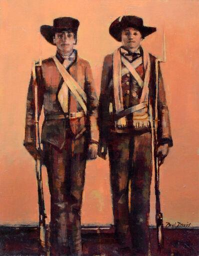 Paul Davis, 'Two Soldiers'