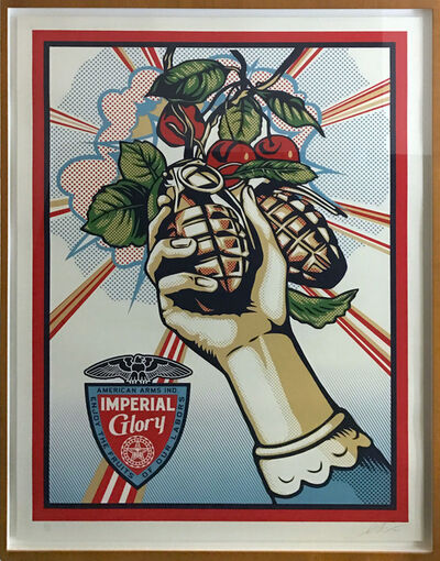Shepard Fairey, 'Imperial Glory', 2012
