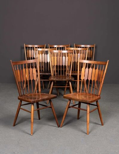 Kipp Stewart, 'Centennial, Set of two armchairs and eight chairs', vers 1950