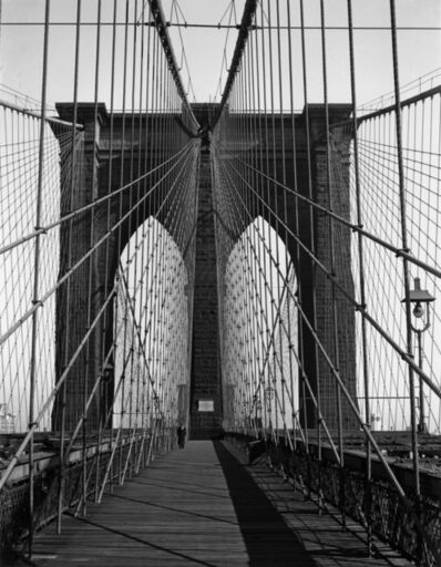 Todd Webb, 'Brooklyn Bridge, New York', 1946