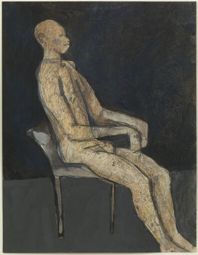 Keith Vaughan, 'Seated Figure', 1963