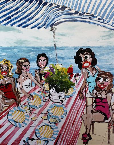 Mary Ronayne, 'Celeste's Liquid Lunch with Friends ', 2021