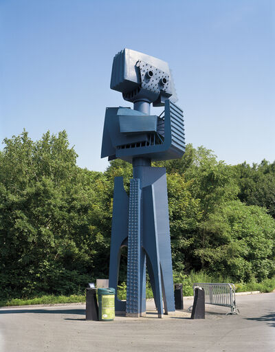 """Jade Doskow, 'Montreal 1967 World's Fair, """"Man and His World,"""" Yves Trudeau's Le Phare du Cosmos / Blue Robot', 2015"""