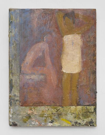 John Lees, 'Two Women (L Shaped Border)', 2017