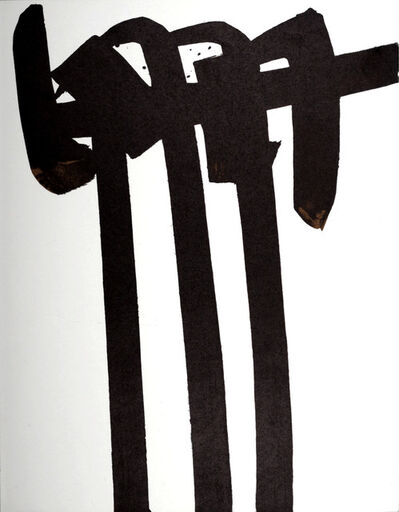 Pierre Soulages, 'Lithographie n° 28', 1970