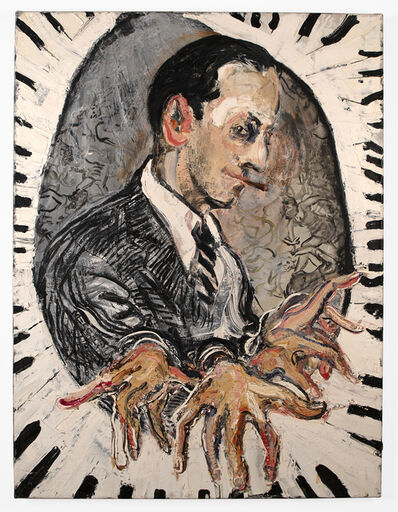 Sam Messer, 'untitled (portrait of George Gershwin)', ca. 1999