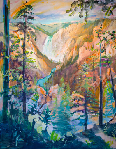 Johnny DeFeo, 'Grand Canyon of the Yellowstone', 2019