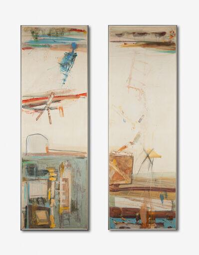 Robert S. Neuman, 'Dos Veces en Las Ramblas (diptych)', 1960