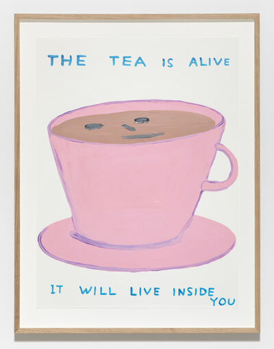 David Shrigley, 'Untitled (The tea is alive)', 2019