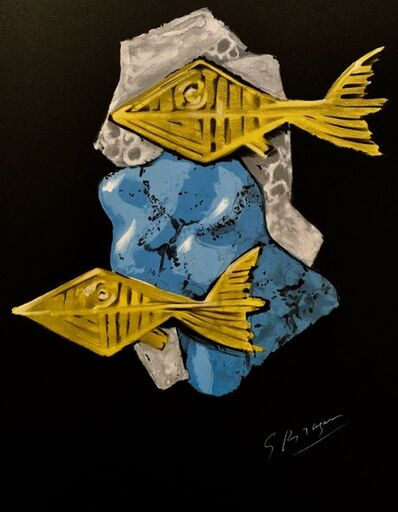 Georges Braque, 'Oedipe Roi: Achéloos', 1988