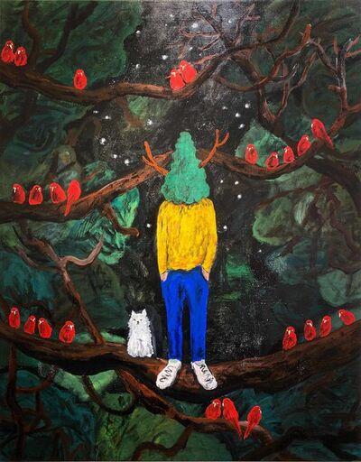 Yuichi Hirako, 'Green Master 61', 2020