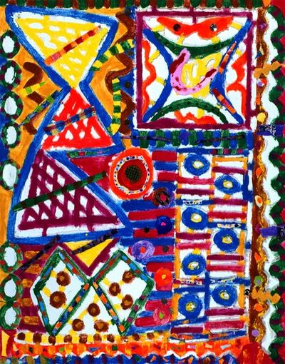 Pacita Abad, 'Bustling colors', 2003