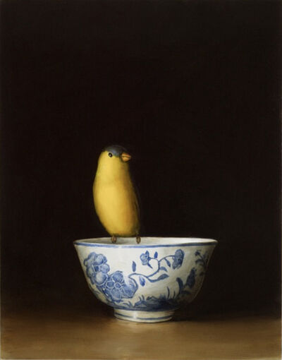 David Kroll, 'Goldfinch and Bowl', 2007