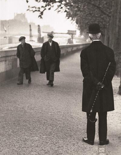 André Kertész, 'Sur les Quais, Paris', 1926 / 1960c