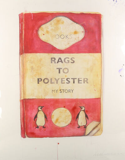 Harland Miller, 'Rags To Polyester', 2014