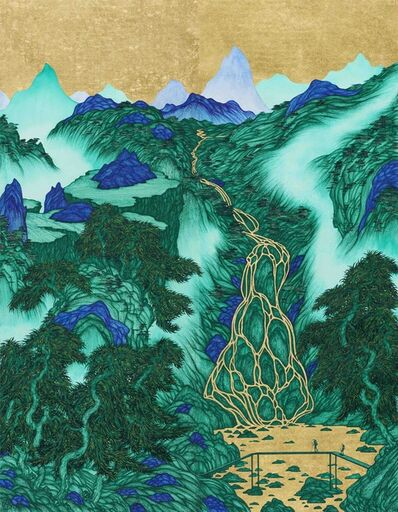 Yao Jui-chung 姚瑞中, 'Good Times: Lion Leopard Lake', 2020