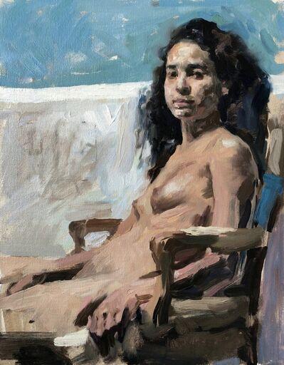Hollis Dunlap, 'October Girl (Portrait in Fall)', 2020