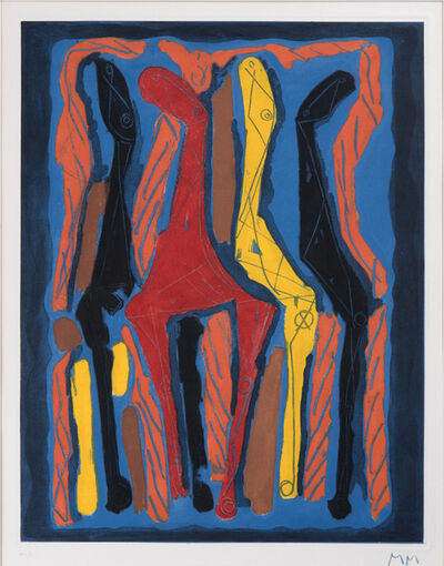 Marino Marini, 'Marino from Goethe, ', 1979