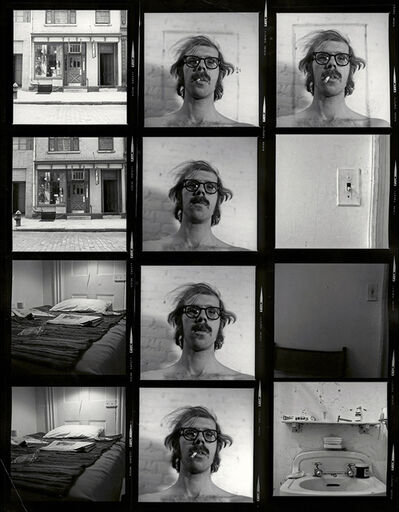 Chuck Close, 'Untitled (Self-Portrait/Contact Sheet)', 2013