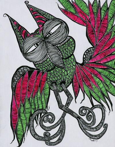 Charly Fasano, 'Neon Bird', 2017