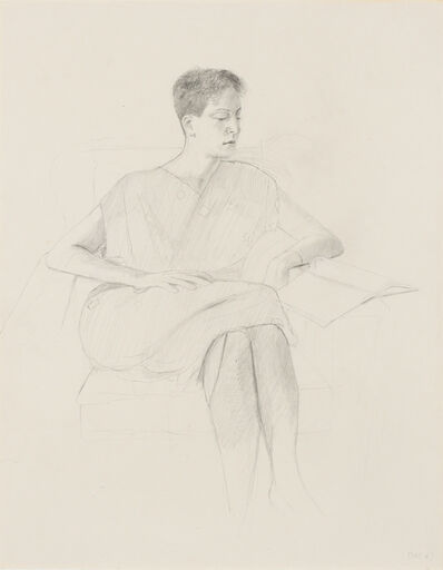 Dan McCleary, 'Susan Streitfield, Reading', 1983