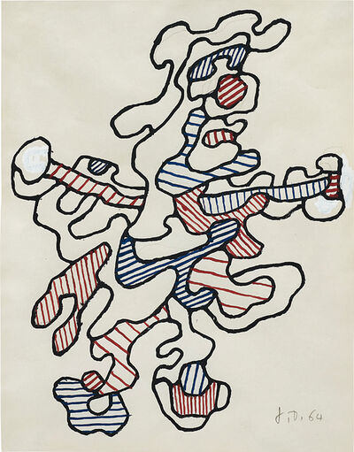Jean Dubuffet, 'Personnage IV', 1964