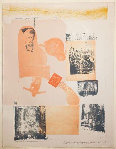 Robert Rauschenberg, 'Romances (Elysian)', 1977