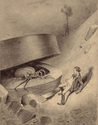 Henrique Alvim Correa, 'from the book War of the worlds', 1906