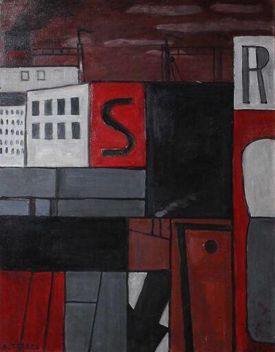 """Augusto Torres, '""""Ritmos de ciudad""""', 1989"""