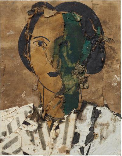Manolo Valdés, 'Retrato con Verde, Ocre y Blanco', 1997