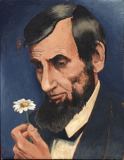 Tony Geiger, 'Lincoln with Daisy', 2010
