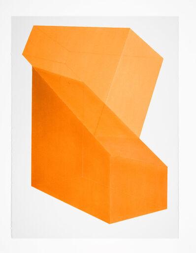 Brant Ritter, 'Accidental Happiness (Shift) Orange', 2017