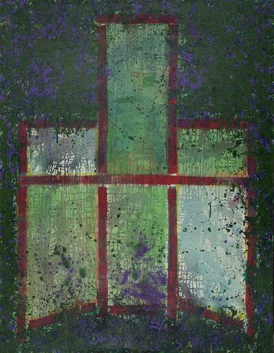 Mao Xuhui 毛旭辉, 'Place to Bury No.2 .Red Armchair  可以葬身之地·红色靠背椅之二', 2012
