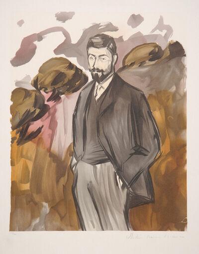 Pablo Picasso, 'Portrait d'un Homme Debout avec Barbiche, 1899', 1979-1982