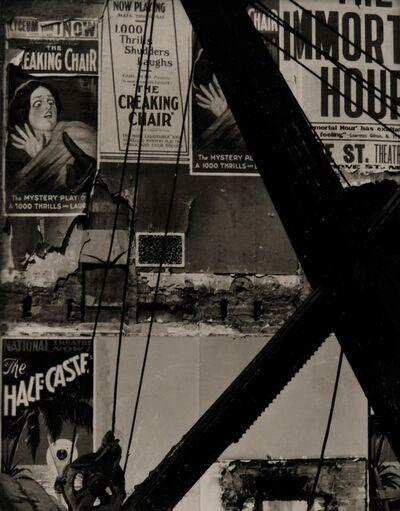 Ralph Steiner, 'The Half Caste', 1929