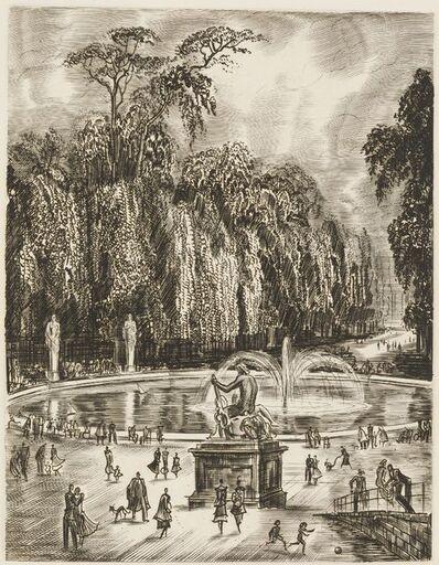 Albert Decaris, '[Tuileries Gardens, Paris]', Unknown
