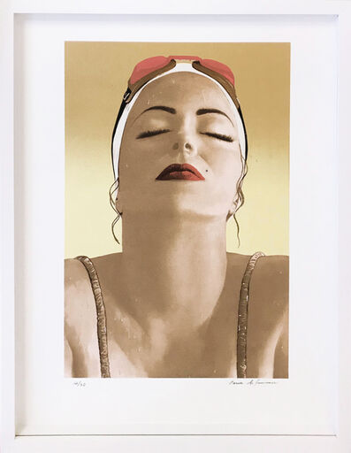 Carole A. Feuerman, 'CATALINA (YELLOW)', 2016