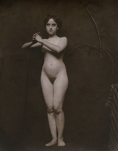 Anonymous Nudes, 'Standing Female Nude with Clasped Hands', 1912c/1912c