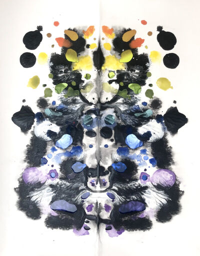 Tony Oursler, 'Rorschach Rainbow', 2020