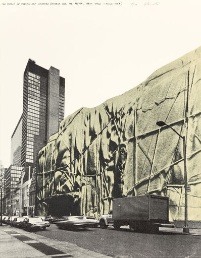 Christo, 'The Museum of Modern Art Wrapped (Project for the MOMA, New York, June 1968)', 1971