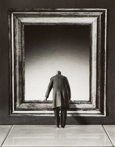 Gilbert Garcin, 'L'Attraction du Vide (The attraction of the void)', 2001