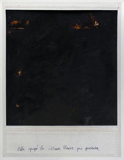 Priscilla Monge, 'Ella apagó la última llama que quedaba ', 2017