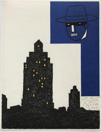 Eduardo Arroyo, 'Composition aux masques', 2000