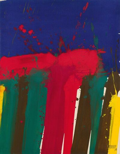 Markus Prachensky, 'Umbria', 1986