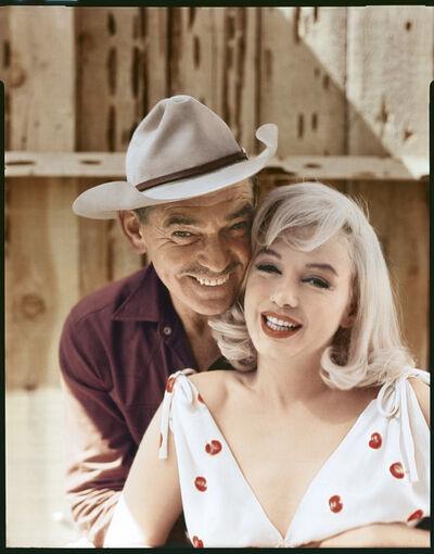 Elliott Erwitt, 'Clark Gable and Marilyn Monroe, Reno, Nevada, 1960', 1960