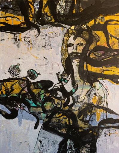 Jehad Al Ameri, 'Yellow & Black', 2020
