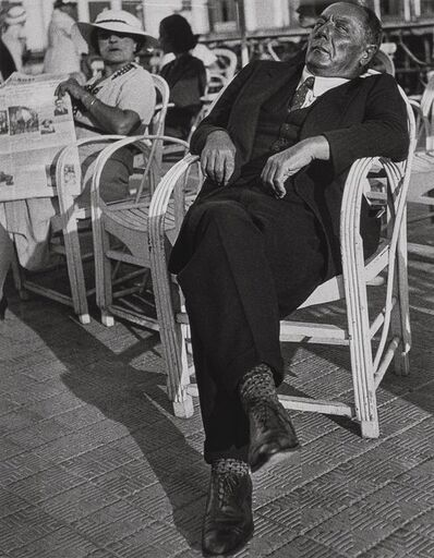 Lisette Model, 'Promenade des Anglais, Nice', 1937-printed later