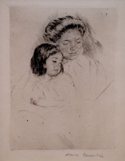 Mary Cassatt, 'The Picture Book', ca. 1901