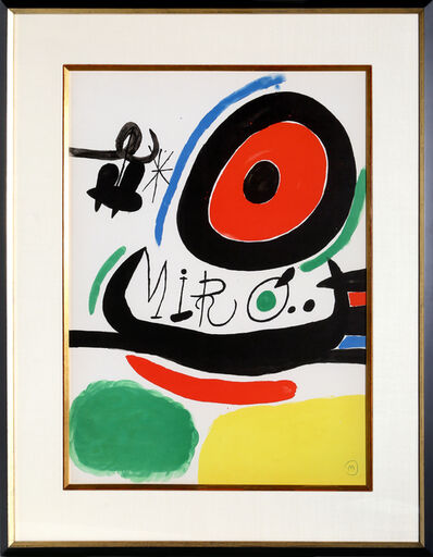Joan Miró, 'Osaka Exhibition (M. 680)', 1970